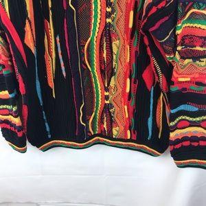 Tundra Sweaters - VTG 90's Tundra Canada SZ L Coogie Hip Hop Knit
